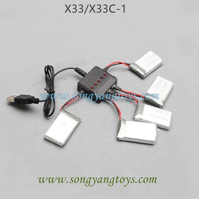 Song yang toys X33C-1 Battery