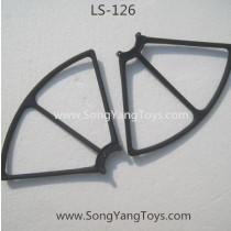 Liansheng LS-126 Leason quadcopter protect frame-1