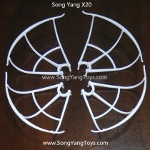 Song Yang Toys X20 protect frame part