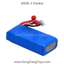 Huajun W606-5 Flanker quadcopter lipo battery