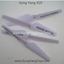 Song Yang toys X20 RC Drone blades