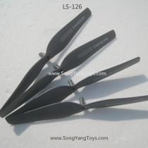 Lian sheng LS126 Quadcopter main blades black