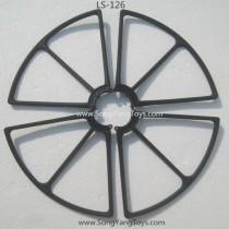 Lian sheng LS126 Leason protect frame black