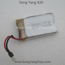 Songyang toys X20 Quadcopter battery
