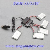 Xiao bai ma T-smart XBM-55 charger AND CHARGER