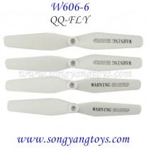 HUAJUN W606-6 fpv drone blades