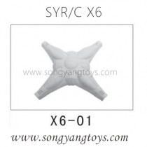 Song yang toys X6 quadcopter top body shell