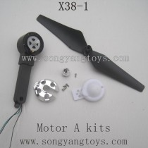 SONGYANGTOYS X38-1 Parts-Propellers A whit Motor