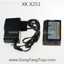 Wltoys XK X251 Quadcopter charger