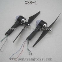 SONGYANGTOYS X38-1 Parts-Motor kits with Propellers