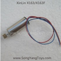 Xin Lin X163 Quadcopter motor blue and red