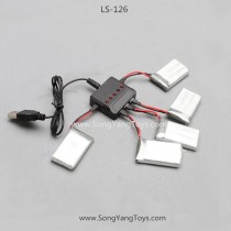 Lian sheng LS126 Drone upgrade usb charger