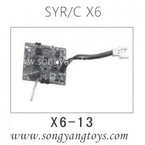 Song yang toys X6 space quadcopter Receiver Board