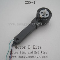 SONGYANGTOYS X38-1 Parts-Motor B kits Blue