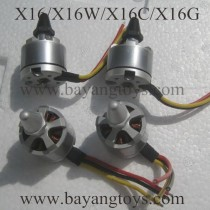 BAYANGTOYS X16 X16W sky-hunter Brushless Motor
