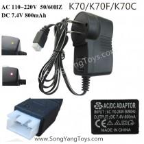 Kai deng K70 FPV Drone US charger