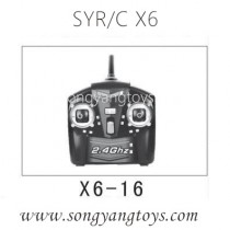 Song yang toys X6 space quadcopter transmitter