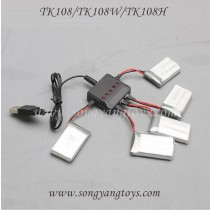 Skytech TK108 TK108H Quadcopter upgrade charger and battery