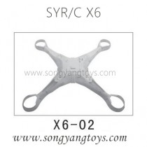Song yang toys X6 quadcopter under body shell