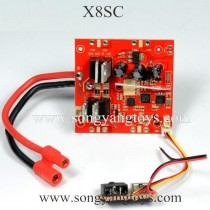SYMA X8SC Drone Parts-Receiver Board
