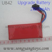 UdiRC U842 Falcon Drone Upgrade Battery 2800mAh, UDI U842-1 Lark FPV Quadcopter Parts