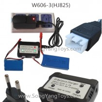 Huajun W606-3 Upgrade charger EU