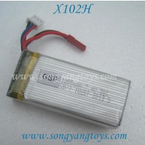 MJXR/C X102H Quadcopter battery