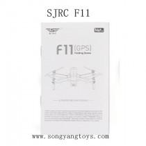 SJRC F11 Parts-English Manual