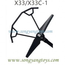 Song yang X33C-1 Drone Motor Kits A with guards
