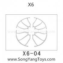 Song yang toys X6 quadcopter blades guards
