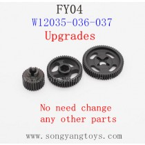FEIYUE FY-04 Upgrades Parts-Metal Drive Gear W12035-036-037