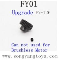 FEIYUE FY-01 Upgrades Parts-Metal Motor Gear FY-T26