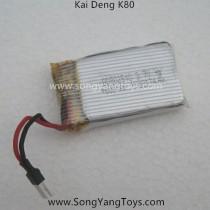Kai deng K80 Quadcopter battery