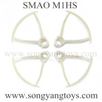 SMAO M1HS mini drone Blades Guards white