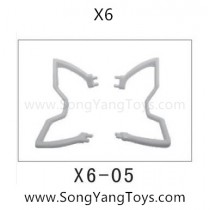 Song yang toys X6 quadcopter landing skid