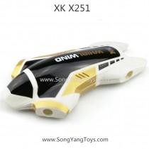 XK X251 Quadcopter body shell