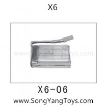 Song yang toys X6 drone battery