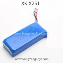 XK X251 WHIRLWIND Quadcopter battery