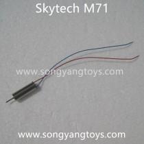 Skytech M71 quadcopter Motor blue wire