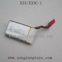 Song yang X33C-1 battery