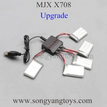 MJX RC X708 Quad-copter Upgrade charger set