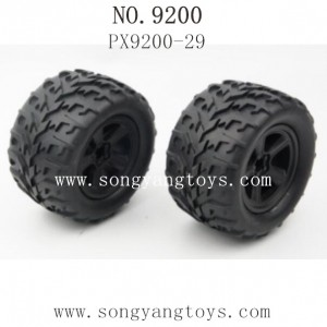 PXToys 9200 PIRANHA Parts-Tire PX9200-29